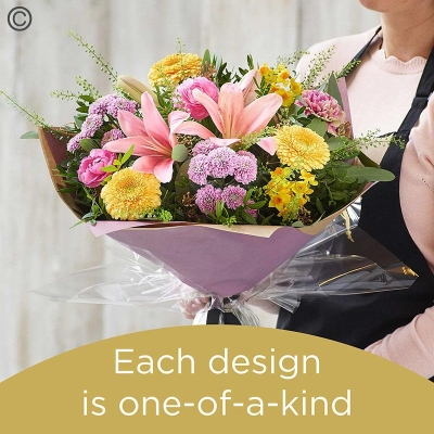 Spring Florists Choice Hand tied 1